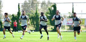 İttifak Holding Konyaspor'umuzda Gençlerbirliği maçı hazırlıkları devam ediyor