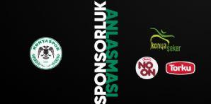 Kulübümüz Konya Şeker SAN. ve TİC. A.Ş ile reklam sponsorluk anlaşması imzaladı