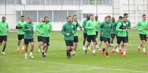 Atiker Konyaspor'umuz Galatasaray maçının hazırlıklarını sürdürdü