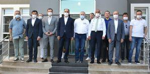 Belediye Başkanlarımızdan takımımıza destek ziyareti