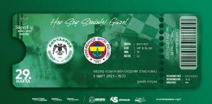 Fenerbahçe Maçı Hatıra Biletleri Satışta