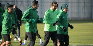 Atiker Konyaspor'umuz Akhisarspor maçı hazırlıklarını sürdürdü