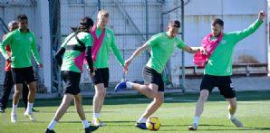 Atiker Konyaspor'umuz Medipol Başakşehir maçı hazırlıklarına devam etti