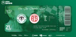 Fraport TAV Antalyaspor maçı için hatıra biletler satışta