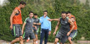 İttifak Holding Konyaspor'umuz günü tek antrenmanla geride bıraktı