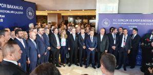 Başkanımız Hilmi Kulluk Spor Kulüpleri ve Federasyonları Çalıştayı'na Katıldı