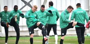 İttifak Holding Konyaspor'umuz taktik antrenmanla hazırlıklarına devam etti