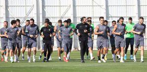 Galatasaray maçı hazırlıklarına devam ediyoruz