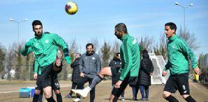 İttifak Holding Konyaspor'umuz Kasımpaşa maçı hazırlıklarını sürdürdü