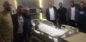 Kaptanımız Ali Turan ameliyat oldu