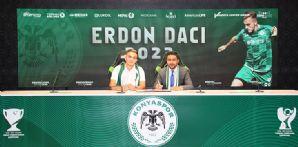 Erdon Daci 2023'e kadar Konyaspor'umuzda!