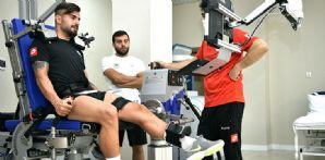 Futbolcularımızın İzokinetik ve Kuvvet Testleri tamamlandı
