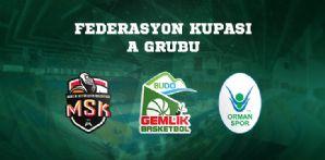 Federasyon Kupası Eşleşmeleri Belirlendi