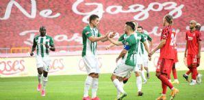 İttifak Holding Konyaspor'umuz Beşiktaş'ı 4-1 mağlup etti