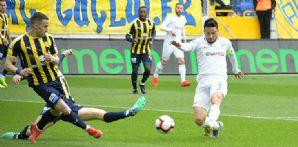 Atiker Konyaspor'umuz Ankaragücü deplasmanından 1 puanla dönüyor
