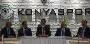 Çevre ve Şehircilik Bakanımız Murat Kurum Kulübümüzü Ziyaret Etti