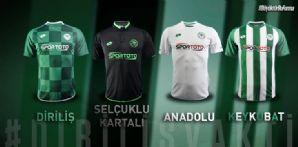 Yeni sezon formalarımızı Diriliş Konyaspor temasıyla tanıttık
