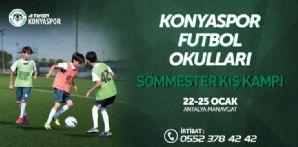 Futbol Okullarımızdan Sömestr Kış Kampı Projesi
