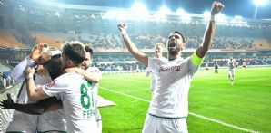 İttifak Holding Konyaspor'umuz deplasmanda M. Başakşehir ile 1-1 berabere kaldı