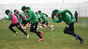 Atiker Konyaspor'umuz Göztepe maçı hazırlıklarına devam etti