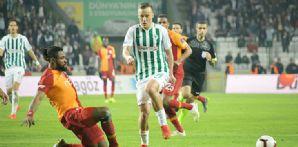 Atiker Konyaspor'umuz Galatasaray ile 0-0 berabere kaldı