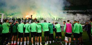 Atiker Konyaspor'umuz son çalışmasını basına ve taraftara açık yaptı