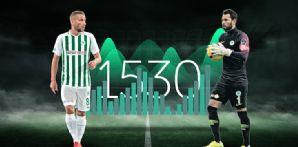Atiker Konyaspor'umuzda en fazla süre alan oyuncularımız Serkan Kırıntılı ve Nejc Skubic oldu