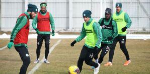 İttifak Holding Konyaspor'umuz Galatasaray maçı hazırlıklarına başladı