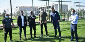 Teknik Direktörümüz İsmail Kartal Futbol Akademimizi Ziyaret Etti