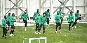 Takımımız Gençlerbirliği maçının hazırlıklarını sürdürdü