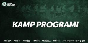 Atiker Konyaspor'umuzun devre arası kampı 3 Ocak'ta başlayacak