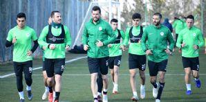 Takımımız Kayserispor maçı hazırlıklarına yapılan antrenmanla devam etti