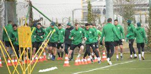 Takımımız yapılan antrenmanla Fenerbahçe maçı hazırlıklarını sürdürdü
