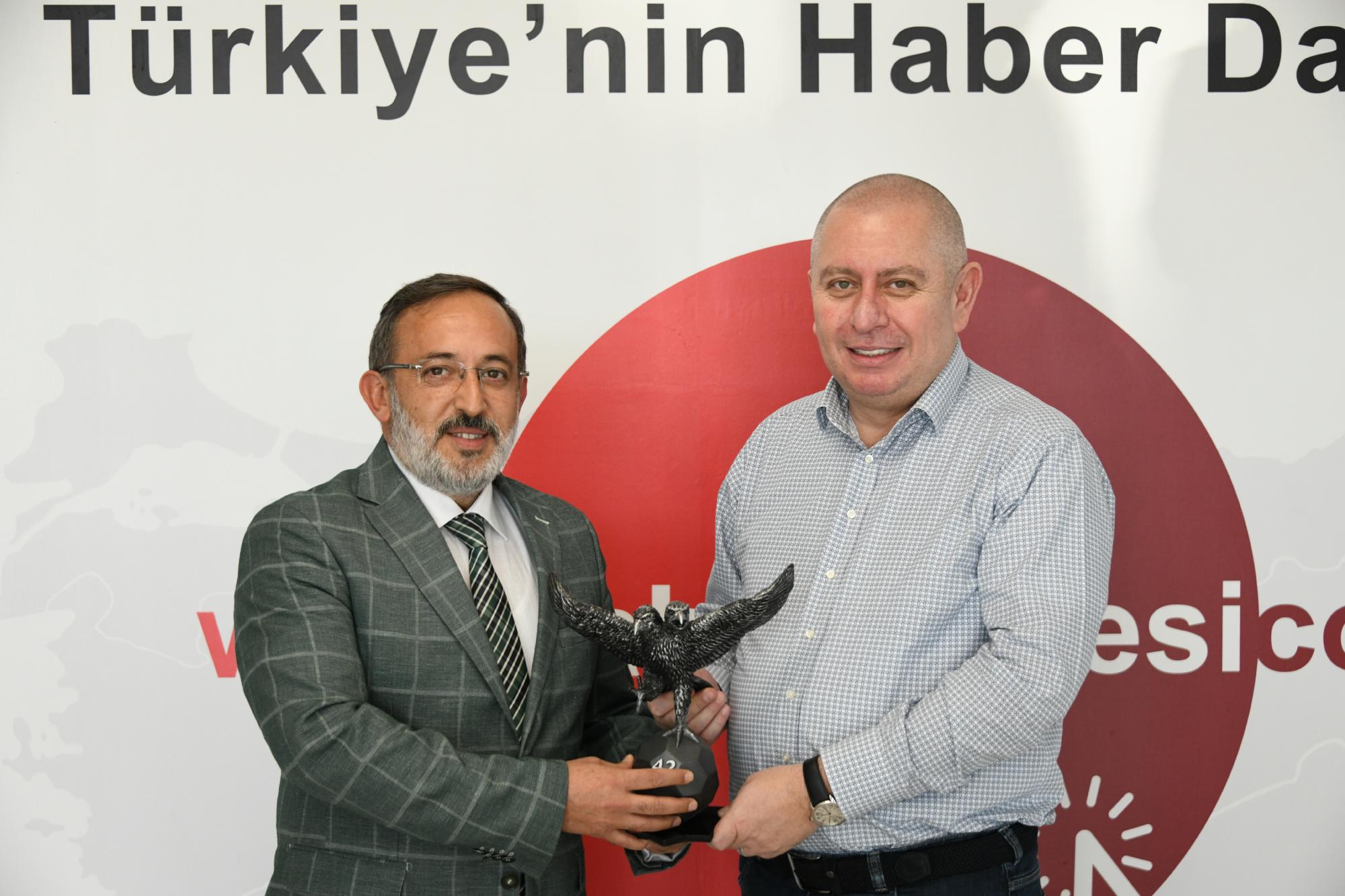 Haber Dairesi Ziyareti